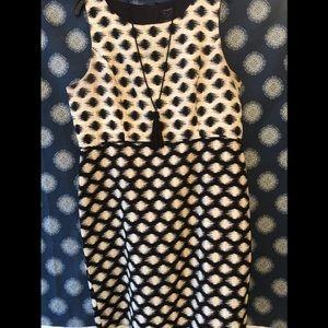 Ann Taylor Polka Dot Dress- Opposites Attract